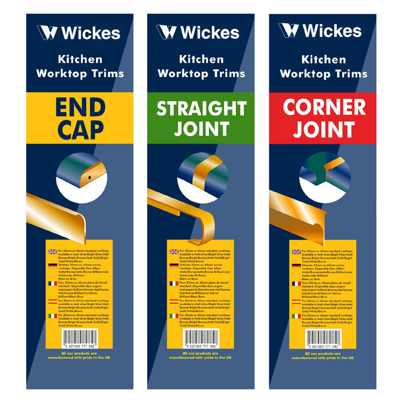 Wickes packaging designs