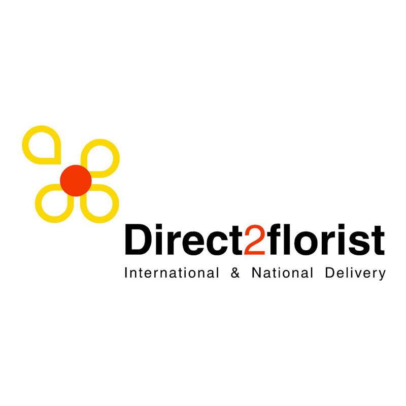 direct 2 florist logo