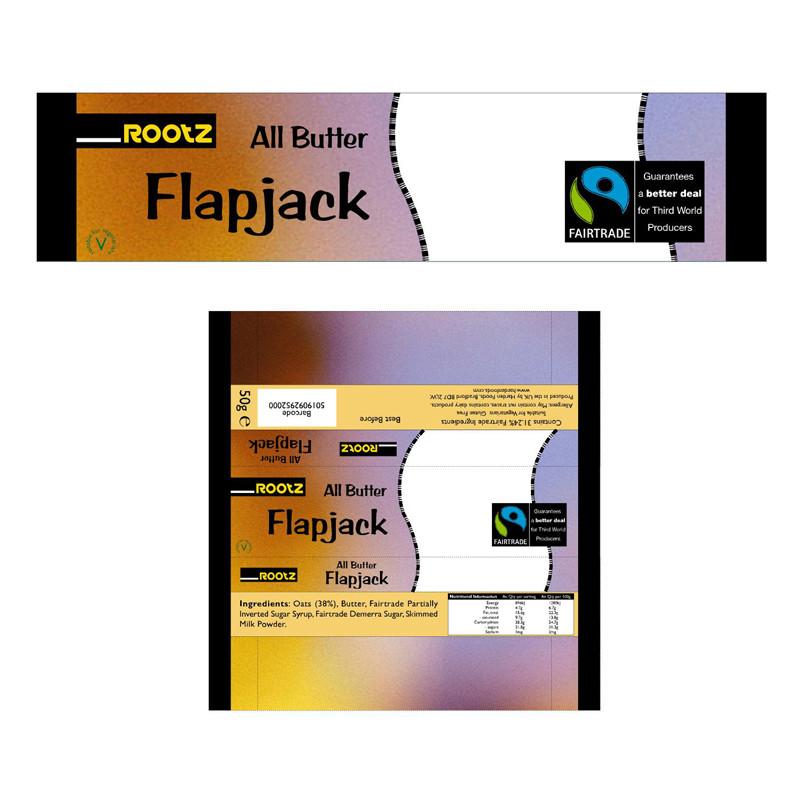 Rootz packaging film design
