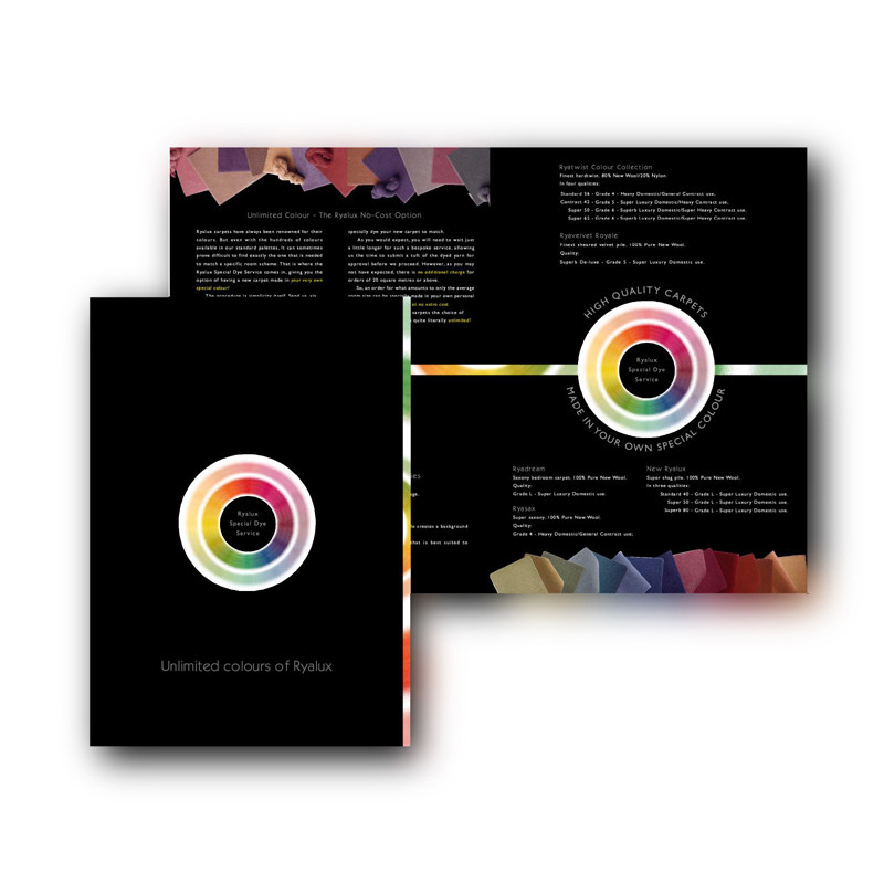 Ryalux brochure design
